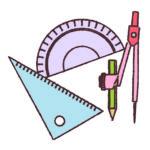 数学。作図のコツ2、よく出題される2つの性質。